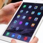 Έπαινοι για την οθόνη του iPad Air 2
