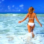 Γυμναστική στη θάλασσα