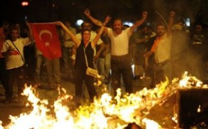 διαδηλώσεις στην Τουρκία