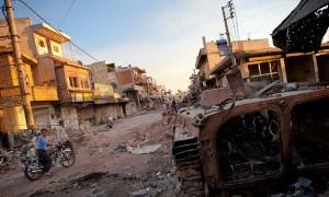 Εκατόμβη νεκρών στη Συρία