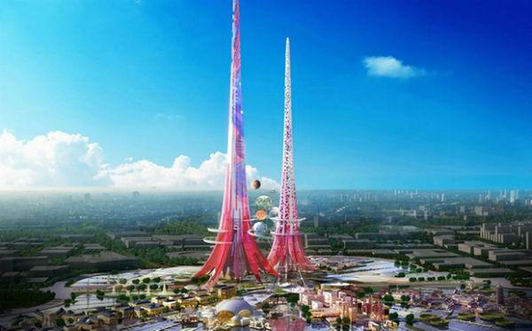 Οι ψηλότεροι δίδυμοι πύργοι
