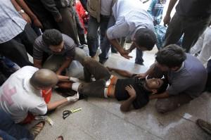 Στην Τουρκία τραυματισμένοι Σύροι