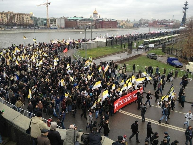 Στους δρόμους χιλιάδες Ρώσοι εθνικιστές
