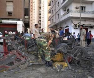 Βομβιστικές επιθέσεις συντάραξαν την Τρίπολη