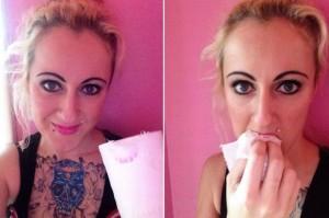 25χρονη τρώει καθημερινά χαρτί....υγείας!