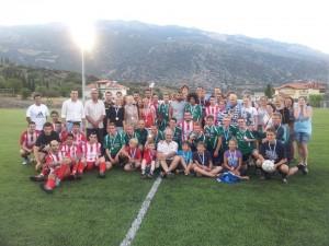 Αντιφασιστικός ποδοσφαιρικός αγώνας στο Δίστομο