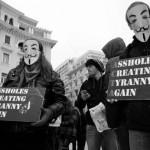 Οι «χακτιβιστές» σε πολυμέτωπη μάχη