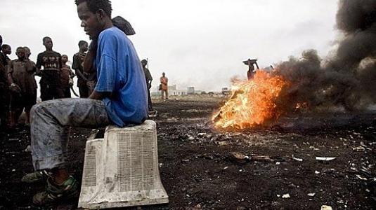 Τα ηλεκτρονικά σκουπίδια της Ευρώπης καταστρέφουν την Αφρική