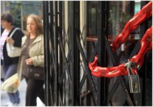 Θεσσαλονίκη:Αυξάνονται τα λουκέτα σε εμπορικούς δρόμους