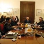 Συνάντηση των πολιτικών αρχηγών την Τρίτη