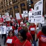 Απεργία των εκπαιδευτικών στο Σικάγο