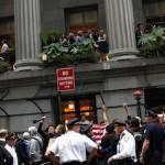 Συλλήψεις διαδηλωτών έξω από την Wall Street